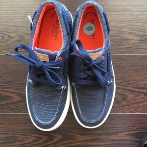 RARE Sperry Top Sider Striper II Boat Deck Shoes